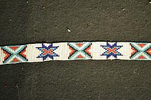 Plains Indian Style Choker Beautifully beaded choker.