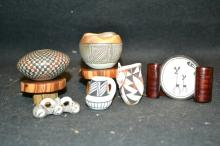 6 Pc. Mini Acoma Pots