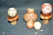5 Miniature Pots