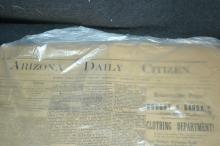 Lot of Arizona Daily Citizen Newspapers