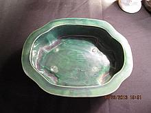 Chinese Green Glaze Plante