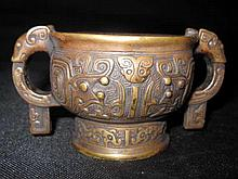 18 Centry Bronze Censer Burner