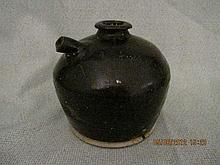 Chinese Brwon Glaze of Jar