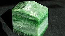 Chinese Big Piece of Hetian Green Jade