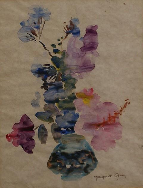 Margaret Coen (1913-1993) Still Life gouache