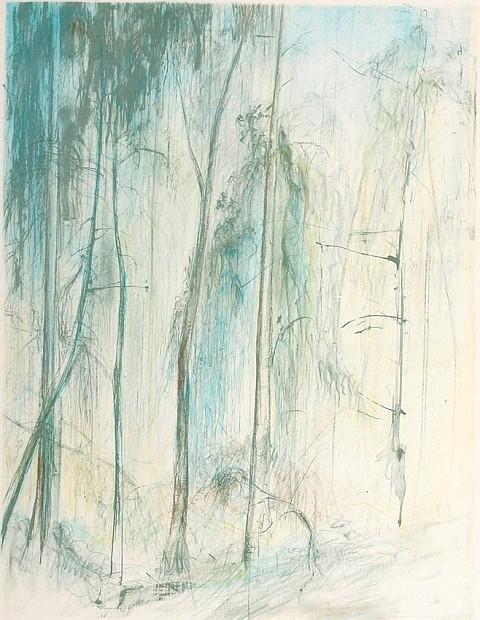 Jamie Boyd (born 1948) Trees (circa 1981) lithograph