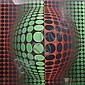 Victor Vasarely (French/Hungarian 1906-1997) Vega/Fel-Vert/Rouge screenprint