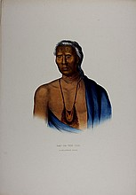 LAP-PA-WIN-SOE Delaware Indian Chief. McKenny & Hall litho