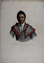 OCHIO-FINICO-CHARLES CORNELS. McKenney & Hall Indian
