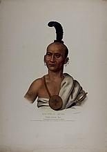 KAI-POL-E-QUAH, White nosed fox Indian. McKenney & Hall