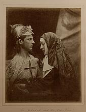 SIR GALAHAD AND 'THE PALE NUN' JULIA MARGARET CAMERON.