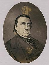 LEWIS CASS. SECRETARY OF WAR AND OF STATE. SALT PRINT