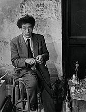 GIACOMETTI BY DENISE COLOMB.