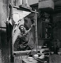SCULPTOR ÉMILE GILIOLI, REFLECTED,  BY WILLY MAYWALD.