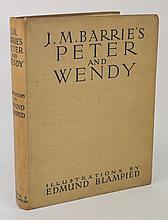 BLAMPIED, Edmund. (Illustrator), Peter Pan,: col.