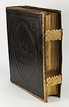 The Holy Bible,; engr. plts., contemp. mor., brass