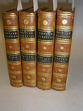 TATLER : 4 vols, nice contemporary tree calf,