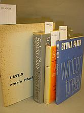 PLATH, Sylvia - Child : org. card covers in d/w,