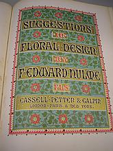 HULME, F. Edward - Suggestions in Floral Design :