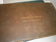 HAY, D. R - An Essay on Ornamental Design, with an