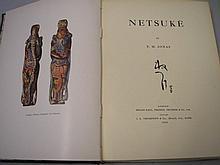 JONAS, F.M - Netsuke : plates, org. cloth