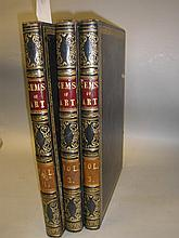 HALL, S.C (edit) Gems of European Art : 3 vols,