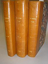 'ANTIQUARIAN TRACTS' : 3 vols, half calf, 8vo, ex.