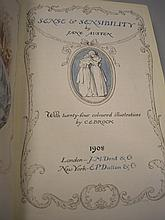 AUSTEN, Jane - Works : 6 vols, illustrated in