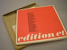 EDITION ET : three sets in original posting box,