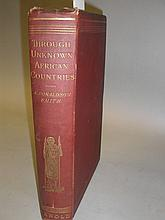 SMITH, A. Donaldson - Through Unknown African