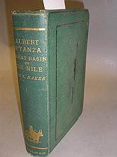BAKER, Sir Samuel W - The Albert N'Yanza : map,