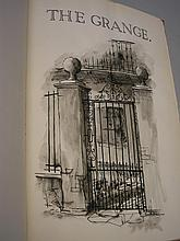MANUSCRIPT BOOK : ' The Grange,' with pen and wash
