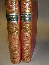 BINDINGS : Arnold, Matthew - Poems, 2 vols, full