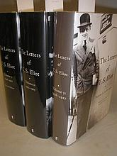 ELIOT, T. S - The Letters : 3 vols, edited by