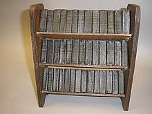 MINIATURE SHAKESPEARE : set of 40 vols in original