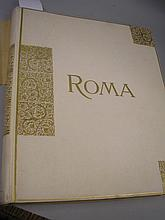 ROME PHOTOGRAPHS : album consisting of photographs