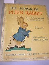 POTTER, Beatrix - The Songs of Peter Rabbit :