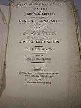 BONAPARTE - Copies of Original Letters from the