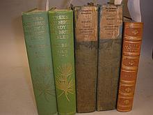 BEAN, W.J - Trees and Shrubs : 2 vols, org. cloth,