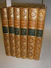 BINDINGS : The Works of Lord Byron. 5 vols,