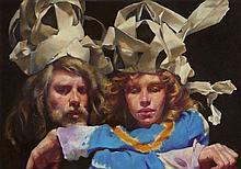 Robert O. Lenkiewicz [1941-2002]- The Painter with