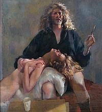 Works from the Lenkiewicz Legacy & Graham Carey Collection