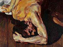 * Robert O. Lenkiewicz [1941-2002]- Man on Floor S