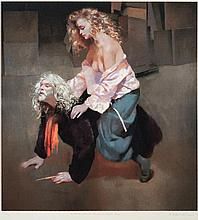 * Robert O. Lenkiewicz [1941-2002]- Painter with L