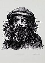 * Robert O. Lenkiewicz [1941-2002]- Early drawing