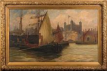 Robert Henry Smith [19/20th Century]- An Old Tea C