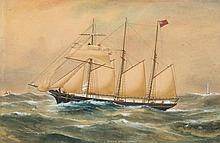 British School 19th century- Bessie of Salcombe:-