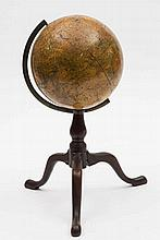 An 19th century 'New Terrestrial Globe' by  Woodwa
