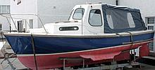 A 20ft motor launch 'Wier Dolphin' of Dartmouth:,