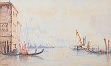 W.Stewart [19th Century]- Venice; The Grand Canal